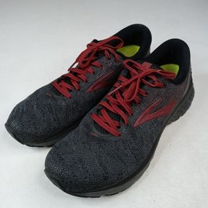 Brooks Ghost 11 Running Athletic Shoes Black/Red/G
